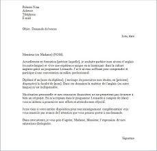 Lettre De Demande De Visa En Anglais lettre francais exemple courrier commercial exemple moto bip