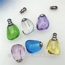 Custom Necklace Pendants Custom Design Small Feet Glass Pendants Glass Crystal Perfume