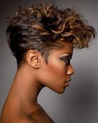 short hairhair straght on back curly on top very short curly hairstyles pinteres