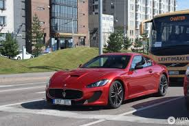 maserati red 2017 maserati granturismo mc centennial edition 15 august 2017