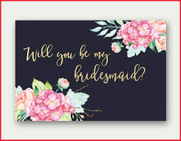 be my bridesmaid invitations new bridesmaid printable pics of wedding decor 189618