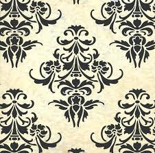 home decor wallpaper designs wallpaper stencil designs wall damask gallery home decoration