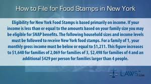how to file for food stamps new york youtube