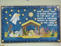for unto you is born this day jesus bulletin board