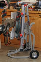 bosch gravity rise table saw stand bosch t4b gravity rise miter saw stand newwoodworker com llc