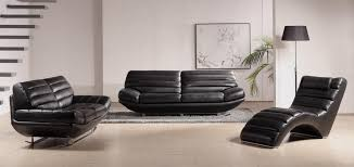 uncategorized elegant black leather living room sets p14785429