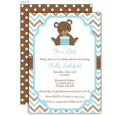 best collection of bear baby shower invitations which available