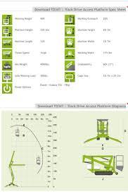 anyquip aerial lift rentals u0026 sales low rates book online