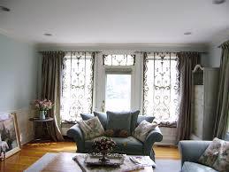 living room window treatment ideas for small living room black