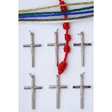 rosary kits knotted cord rosary kits multi colored