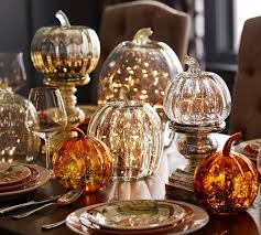 pumpkin decoration images 20 elegant halloween decorating ideas glass pumpkins glass and
