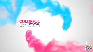 colorful smoke reveal apple motion by bank508 videohive