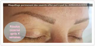 tatouage sourcils poil par poil galerie photos maquillage permanent dermo sourcils