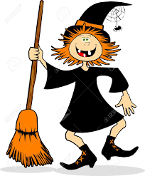 free animated halloween clipart 11 144 witch broom stock vector illustration and royalty free