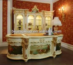 Bisini Furniture Luxury Office Desk SetElegant Design High - Luxury office furniture