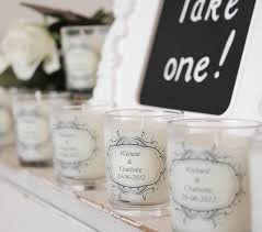 wedding favors candles wedding favour personalised scented candles by hearth heritage