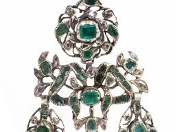 girandole earrings iberian emerald and diamond girandole earrings wanton
