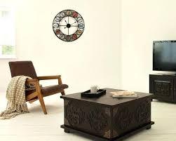 big clock living room multi coloured wall iron clocks accessories