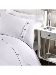 hotel waffle duvet set white ponden homes
