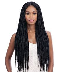medium box braids with human hair freetress braid bulk long large box braid crochet braid