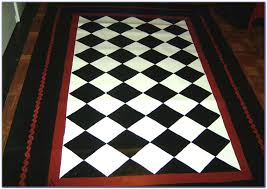 black and white carpet runner installing the black and white rugs