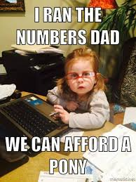 Kid On Computer Meme - she ran the numbers the meta picture