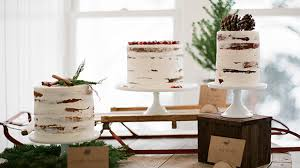 Winter Wedding Cakes 15 Beautiful Winter Wedding Cakes