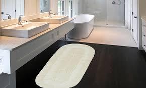 Cotton Reversible Bathroom Rug Great 24 X 60 Bath Rug Memory Foam 24 X 60 Bath