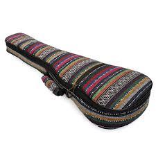 26 u0027 u0027 cotton nylon country style soft padded guitar gig bag ukulele