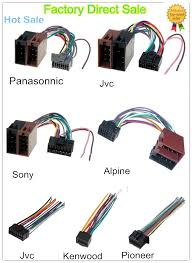 toyota car rca male connector with speaker cable wire harnss view