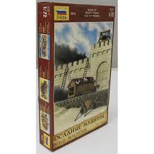 siege machines zvezda 1 72 8015 ancient siege machines kit no 1 wargaming