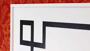 painted headboard painted wall design headboard
