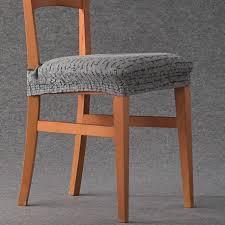 housse de chaise housse pour assise de chaise letras