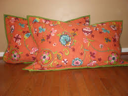 Orange Pillows For Sofa by Furniture Luxury Pattern Decorative Pillow Covers For Living Room