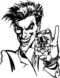 batman joker card dc comics decal wall car window laptop vinyl