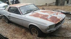mustang salvage yard 1967 ford mustang coupe salvage