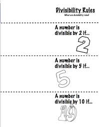 27 best divisibility rules images on pinterest divisibility
