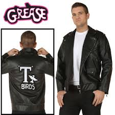 Authentic Halloween Costumes Adults Discount John Travolta Grease Bird Jackets Halloween Costumes