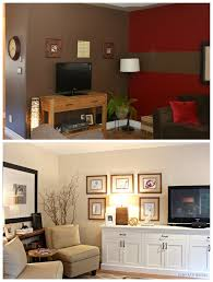 Transitional Style Bedrooms by Living Room Decorating With A Tv Painted In Benjamin Moore Gentle