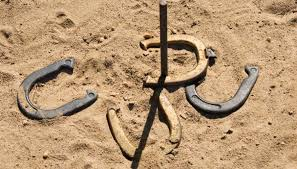 How To Build A Horseshoe Pit In Your Backyard How To Build A Horseshoe Backstop Our Pastimes