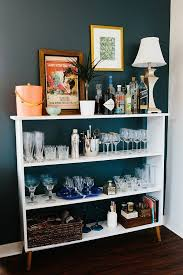Small Bookcase On Wheels Best 25 Bookshelf Bar Ideas On Pinterest Diy Bar Cart Home Bar
