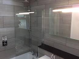bathroom tile 12x24 tile in a small bathroom home design image
