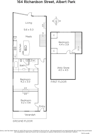 shaughnessy floor plan 164 richardson street albert park marshall white