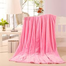 light pink twin bedding light pink soft comfortable flannel blanket for girls women bed sofa