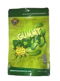 pickle candy gummy pickle 4 5 pickle flavored gummi candy