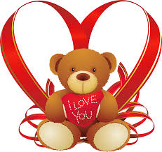 red heart with teddy bear png clipart gallery yopriceville
