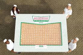 Krispy Kreme Meme - krispy kreme just gave away a box of 2 400 doughnuts first we feast