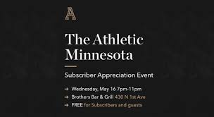 letter from the editor hang out with the athletic minnesota staff