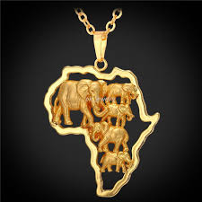 african gold necklace images Wholesale african necklace men women ethnic 2016 new jewelry gift jpg