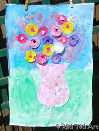 Making Flowers Out Of Tissue Paper For Kids - kids crafts flower collage flower collage collage and flower